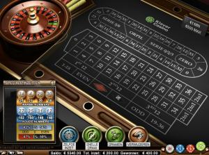Hoge Inzet Roulette Screenshot